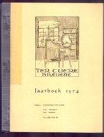 Jaarboek 1974 TER CUERE BREDENE & Oostende RAMP-OVERZET REDDERS-MOSSELHOEK POLITIE-REGLEMENT TRAM VISMIJN VISSERIJ Z797B - Bredene