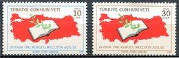 Turquie - 1981 - Yt 2342/2343 - Inauguration De L'Assemblée Constituante - ** - 1921-... Republik