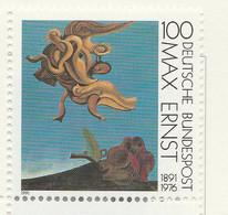 PIA  -  GERMANIA   -  1991  : Centenario Della Nascita Del Pittore Max Ernst   -  (Yv 1401) - Moderni