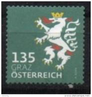 2018 - 3412 - ° -  Heraldik Neu - 1,35 Graz - 1945-.... 2. Republik