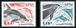 ST-PIERRE ET MIQUELON 2005 - Yv. 843 Et 844 **   Faciale= 1,68 EUR - Dauphins (2 Val.) Commun, Bec Blanc  ..Réf.SPM11549 - Neufs