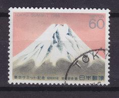 Japan 1986 Mi. 1684    60 (Y) Wirtschafts-Gipfelkonferenz, Tokio Fujisan Gema¨lde Painting Yukihiko Yasuda - 1926-89 Kaiser Hirohito (Showa Era)