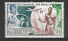 Côte Française Des Somalis 1949    Poste Aérienne      Cat Yt N° 23 N** MNH - Côte Française Des Somalis (1894-1967)
