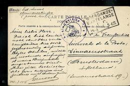 Carte- Vue De Haut-Martelange (Propriètaire Rother Frères)  Obl. Ambulant: Noerdange - Martelange - Entiers Postaux