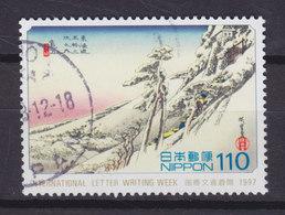 Japan 1997 Mi. 2490    110 (Y) Internationale Briefwoche Kameyama Aus Dreiundfünfzig Stationen' Des Tokaido - 1989-... Kaiser Akihito (Heisei Era)