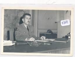 AC (Photo Format 99x148mm )-B3381-militaria - Général Masu Dans Son Bureau - (Nature, Catégorie , état....Voir Scans) - War, Military