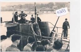 AC (Photo Format 89x124mm )-B3383-militaria -U-Boot Avec équipage En 1941- (Nature, Catégorie , état....Voir Scans) - War, Military