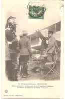 Dépt 54 - ARRACOURT - Un Aéroplane Allemand à ARRACOURT - Capitaine Loubignac Et Pilotes Allemands - (avion, Aviation) - France