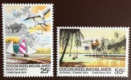 Cocos Keeling 1979 Christmas Birds MNH - Kokosinseln (Keeling Islands)