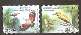 SERBIA 2019,EUROPA CEPT,NATIONAL BIRDS,VOGEL,ANIMALS,,MNH - Serbie