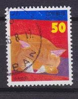 Japan 1990 Mi. 2400 A    50 (Y) Katze Cat Chat - 1989-... Kaiser Akihito (Heisei Era)