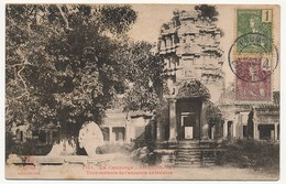 CPA - CAMBODGE - ANGKOR-VAT - Tour Centrale De L'enceinte Extérieure - Cambodja