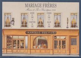 = Mariage Frères, Salon De Thé, Maison De Thé à Paris Depuis 1854 - Hotels & Restaurants