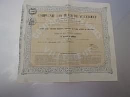 MINES DE VILLEBOEUF (1861) - Azioni & Titoli
