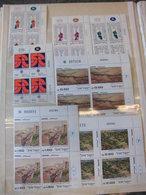 Sammlung Israel Ca 125x Eckrand Viererblock 1974-1981 Postfrisch Sehr Gut (51059 - Israel