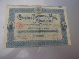 Compagnie Tunisienne De Mines Métalliques - Shareholdings