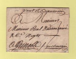 Pont De Beauvoisin - Isere - 1753 - Courrier Pour Grenoble - 1701-1800: Vorläufer XVIII