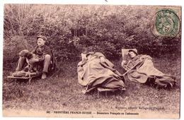 5292 - Frontière Franco-Suisse - Douaniers Français En Embuscade - L.Michaux à Bellegarde - N°502 - - Zoll