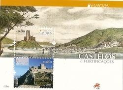 Portugal ** & CEPT Europa, Castles De Marvão And Almourol 2017 (458) - Blocks & Kleinbögen