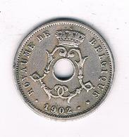 5 CENTIMES  1902 FR /BELGIE /6203/ - 1865-1909: Leopold II