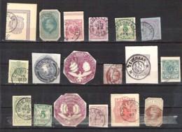 WORLD Cut-offs From Postal Stationery - Postzegels