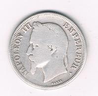 2 FRANCS 1866 A FRANKRIJK /6209/ - France