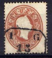 Österreich 1860 Mi 21, Gestempelt [170819XXVII] - Usados