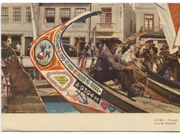 Aveiro - Proa De Moliceiro - Ed. A Da Costa - Adonis House - MARIA VAMOS VIRA - A-9394-M Nr Of Boat - Meu  Teu - Aveiro