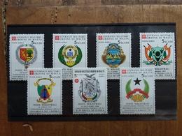 SOVRANO MILITARE ORDINE DI MALTA - Posta Aerea - 7 Valori Nuovi ** (sottofacciale) + Spese Postali - Sovrano Militare Ordine Di Malta