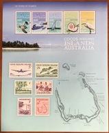 Cocos Keeling 2013 Stamp Anniversary Turtles Birds Large Sheetlet MNH - Kokosinseln (Keeling Islands)