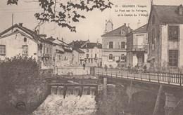 GRANGES LE PONT SUR LA VOLOGNE ET LE CENTRE DU VILLAGE - Granges Sur Vologne