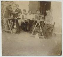 "Réveillon Et Lendemain De Réveillon . Facéties . 2 Citrates 1903 . Légende ""Calvas"" . Nîmes ? - Personas Anónimos"