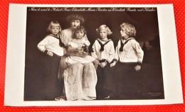 Fürstin Elisabeth Marie Zu Windisch Graetz Mit Kindern - Princesse Elisabeth Marie De Windisch  Et Enfants - VD Vaud