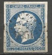 FRANCE - Oblitération Petits Chiffres LP 1984 MEYMAC (Corrèze) - Marcophilie (Timbres Détachés)