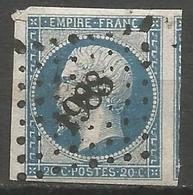 FRANCE - Oblitération Petits Chiffres LP 1988 MEZE (Hérault) - Marcofilie (losse Zegels)