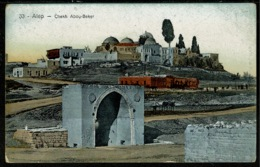 Ref 1322 - Early Postcard - Chekh Abou-Beker Alep - Aleppo Syria - Middle East - Syria
