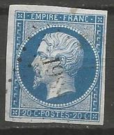 FRANCE - Oblitération Petits Chiffres LP 1989 MEZEL (Basses-Alpes) - 1849-1876: Période Classique