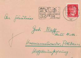 Berlin SW Ar Hitler 12 Rpf Mehr Als 32 Mio. BRT Sind Weg Abschuss Torpedo Treffer Engländer Union Jack - Cartas