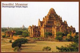 1 AK Myanmar * Der Dhammayangyi Tempel In Bagan - Erbaut Um 1170 - Seit 2019 UNESCO Weltkulturerbe * - Myanmar (Burma)