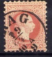 Österreich 1867 Mi 37 II, Gestempelt [170819XXVII] - Usados