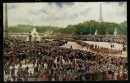 Ref 1322 - WWI Military Tit-Bits Postcard - BritIsh Troops In Paris - War 1914-18