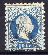 Österreich 1867 Mi 38 II, Gestempelt [170819XXVII] - Usados