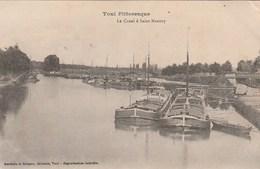 TOUL LE CANAL A SAINT MANSUY - Toul