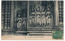 CPA - CAMBODGE - 90 - Souvenir Des Ruines D' ANGKOR - Cambodge