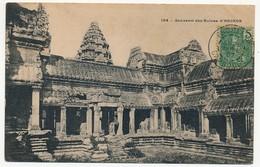 CPA - CAMBODGE - 154 - Souvenir Des Ruines D' ANGKOR - Cambodja
