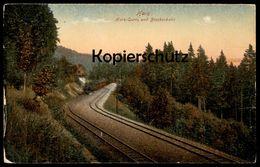ALTE POSTKARTE HARZ LOKOMOTIVE DAMPFLOK Zug Train Steam Engine Locomotive à Vapeur Harzquerbahn Brockenbahn - Trains