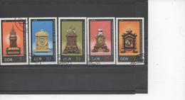 RDA (Allemagne Orientale) - Horloges Anciennes De Paulus Schuster, Jehann Heinrich Köhler, Johannes Klein - Horloges