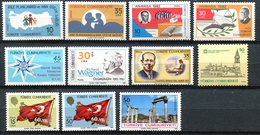 Turquie - 1983 - Lot Timbres ** - Nºs Dans Description - 1921-... Republik