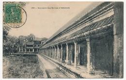 CPA - CAMBODGE - 144 - Souvenir Des Ruines D' ANGKOR - Cambodja