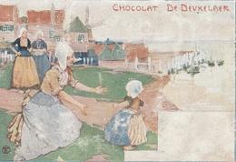 CPA PUBLICITAIRE - Chocolat DE DEUKELAER - Reclame
